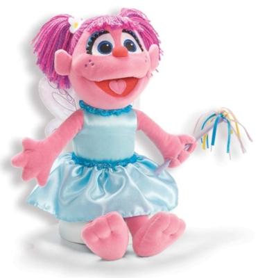 "Fluttering Abby Cadabby - 14.5"" Sesame Street By Gund"