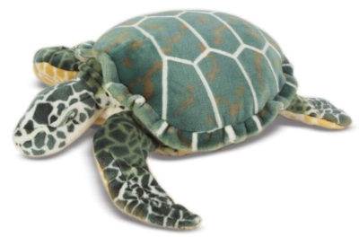 Giant Sea Turtle - 26'' Head to Tail, Plush Turtle by Melissa & Doug
