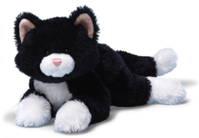 "Liquorice - 12"" Cat By Gund"