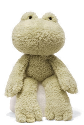 Fuzzy Frog - 13.5&quot; Frog By Gund