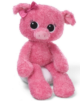 "Jeepers Peepers Pig - 13"" Pig By Gund"