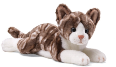 "Gray Tabby - 11"" Cat By Gund"