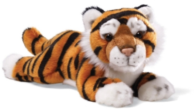 "Brown Tiger - 11"" Tiger By Gund"