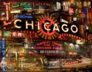 Sweet Home Chicago - 1000pc Jigsaw Puzzle By Buffalo Games
