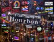 Jigsaw Puzzles - Down on Bourbon Street