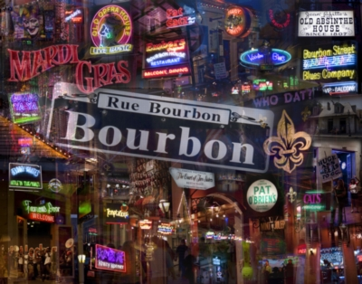 Down on Bourbon Street - 1000pc Jigsaw Puzzle By Buffalo Games