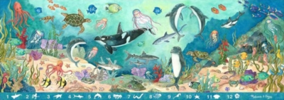 Search & Find Beneath the Waves - 48pc Floor Puzzle By Melissa & Doug