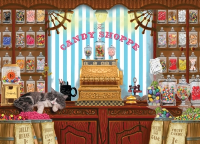 The Candy Shoppe - 1000pc Jigsaw Puzzle By Jack Pine
