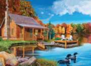 Jigsaw Puzzles - Autumn Cabin