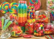 Candy Jars - 1000pc Jigsaw Puzzle By Jack Pine