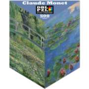 Claude Monet - 500pc Double-Sided Jigsaw Puzzle by Pigment & Hue