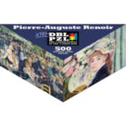 Pierre-Auguste Renoir - 500pc Double-Sided Jigsaw Puzzle by Pigment & Hue