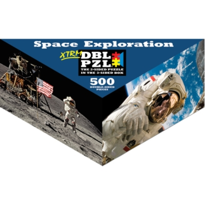 Space Exploration - 500pc Double-Sided Jigsaw Puzzle by Pigment & Hue