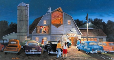 Country Barn Dance - 300pc Large Format Jigsaw Puzzle By Sunsout