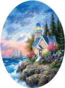 Angel Point - 600pc Oval Jigsaw Puzzle By Sunsout