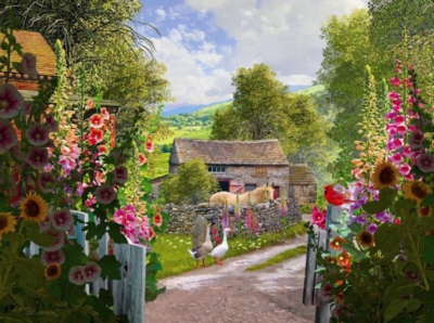 Yorkshire Farm - 1000pc Jigsaw Puzzle By Sunsout