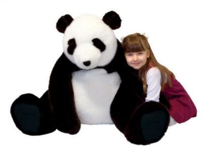 Panda - 20&quot; High, Sitting Plush Marsupial by Melissa & Doug