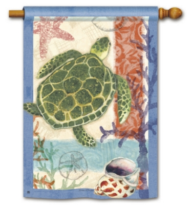 Sea Turtle - Standard Flag by Magnet Works