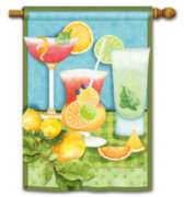 Summer Cocktails - Standard Flag by Magnet Works