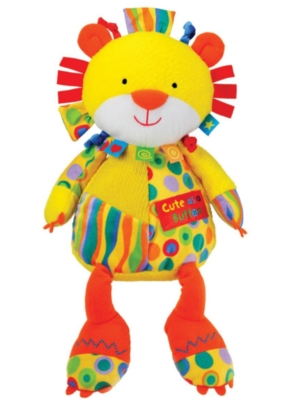 Cute as a Button - 12&quot; Lion By Kids Preferred