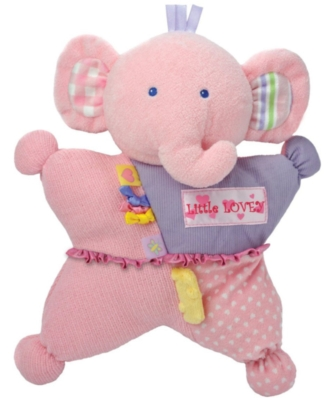 "Little Lovey Elephant Comfort Cuddly - 12"" Elephant By Kids Preferred"