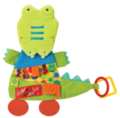 "Cute as a Button - 12.5"" Alligator By Kids Preferred"