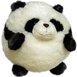 "Panda - 15"" Squishable"