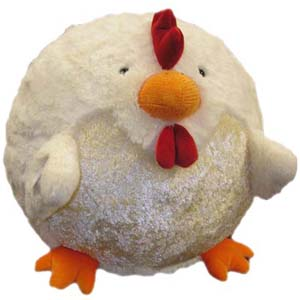 "Rooster - 15"" Squishable"