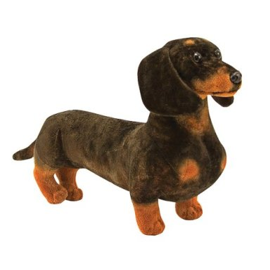 "Dachshund - 17"" Head to Tail, Plush Dog by Melissa & Doug"