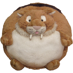 "Sabertooth Tiger - 15"" Squishable"