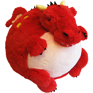 "Fire Dragon - 15"" Squishable"