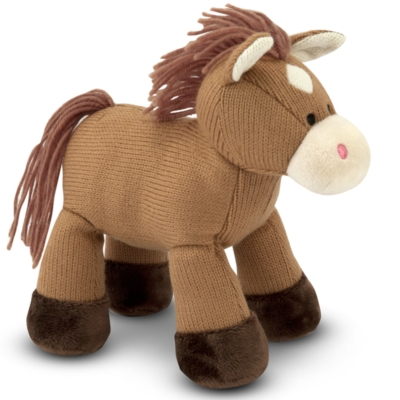 "Sweater Sweetie Horse - 11"" Horse By Melissa & Doug"