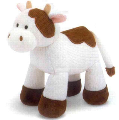 "Sweater Sweetie Cow - 11"" Cow By Melissa & Doug"