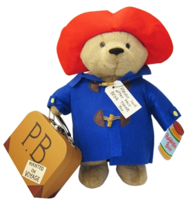 "Paddington Bear (w/ Suitcase) - 16"" Bear"