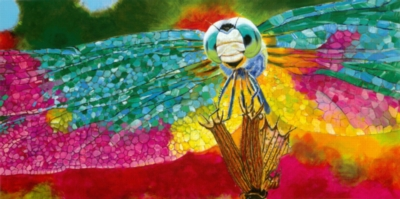 Dazzling Dragonfly - 100pc Jigsaw Puzzle By Melissa & Doug