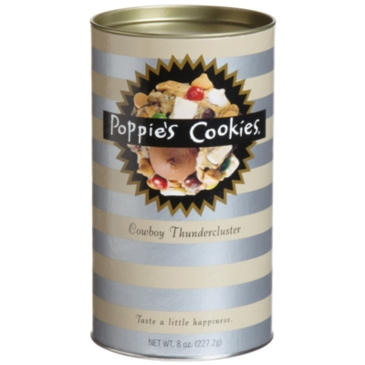 Poppie's Cookies - 8oz Canister - Cowboy Thundercluster