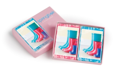 Boots - Double Deck Standard Index Playing Cards by Springbok