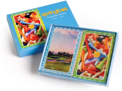 Tee It Up! - Double Deck Jumbo Index Playing Cards by Springbok