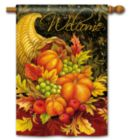 Bountiful Blessings - Standard Flag by Magnet Works
