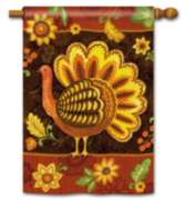 Folk Turkey - Standard Flag by Magnet Works