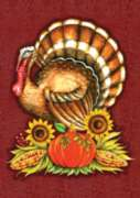 Big Turkey - Garden Flag by Toland