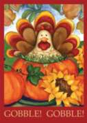 Autumn Turkey - Standard Flag by Toland