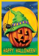 Halloween Hitcher - Garden Flag by Toland