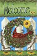 Welcome Nest - Standard Flag by Toland