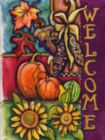 Harvest Welcome - Standard Flag by Toland