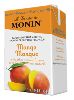 Monin Pour-Over Fruit Smoothies: 46oz Carton Assorted Case