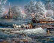 Morning Frost - 1000pc Jigsaw Puzzle By White Mountain