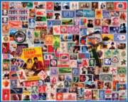 Stamp Collector's Dream - 1000pc Jigsaw Puzzle By White Mountain