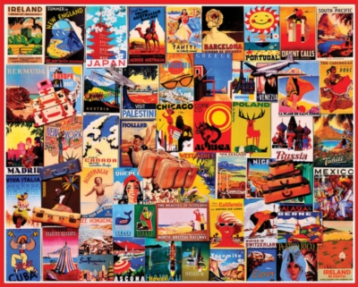 Jigsaw Puzzles - Travel Dreams