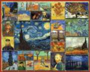 Vincent van Gogh - 1000pc Jigsaw Puzzle By White Mountain